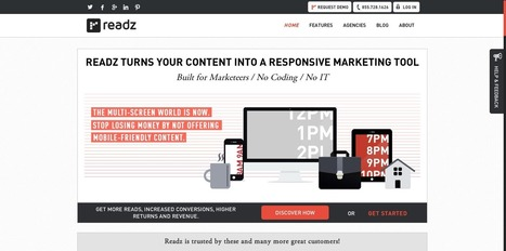 How Readz is Aiming to Take Content Marketing to the Next Level | Mobile Content Marketing | Scoop.it