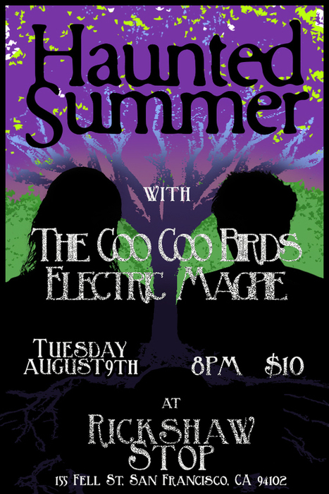 HAUNTED SUMMER - Tickets - Rickshaw Stop - San Francisco, CA - August 9th, 2016 | CLOVER ENTERPRISES ''THE ENTERTAINMENT OF CHOICE'' | Scoop.it