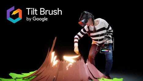 Introducing Google's Tilt Brush an amazing New Innovative Technology for Artists | Future  Technology | Scoop.it