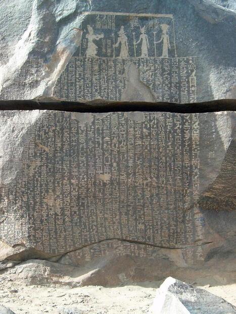 Le déclin de l'âge d'or (3) et les accessoires du quotidien, en Égypte ... | Egypte antique | Scoop.it