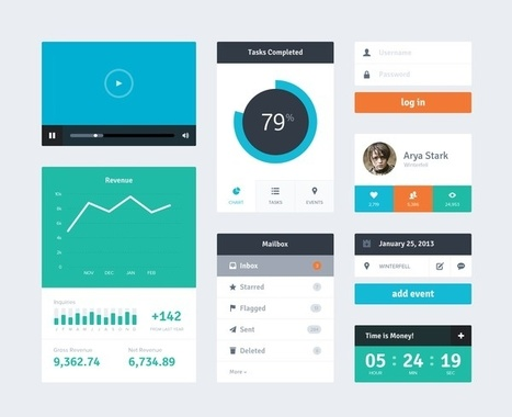 24 beautifully-designed web dashboards that data geeks will love | data visualization | Scoop.it