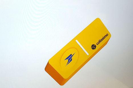 CES 2016 : La Poste lance Domino, un bouton connecté qui révolutionne l'envoi des colis | connected objects | Scoop.it