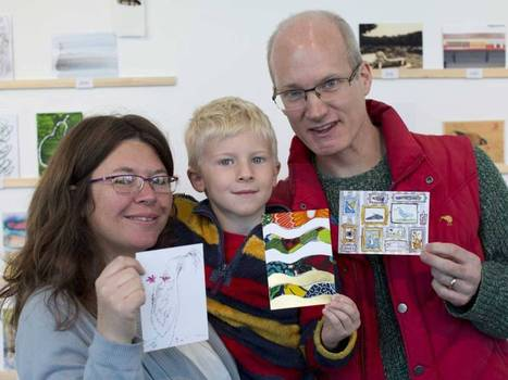 Secret postcards get the first-class stamp: Britain's top artists contribute ... - The Independent | Creative Economy | Scoop.it