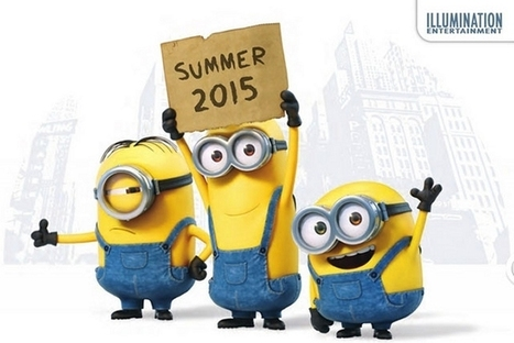 First poster for Despicable Me spin-off, Minons - Den Of Geek | Despicable Me | Scoop.it