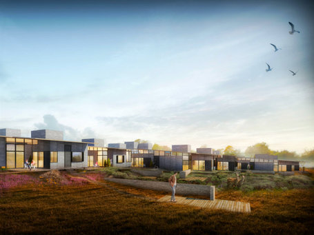 Sustainable Housing in Denmark by Lendager Architects | Chronique d'un pays où il ne se passe rien... ou presque ! | Scoop.it