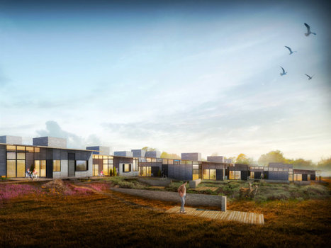 Sustainable Housing in Denmark by Lendager Architects | PROYECTO ESPACIOS | Scoop.it
