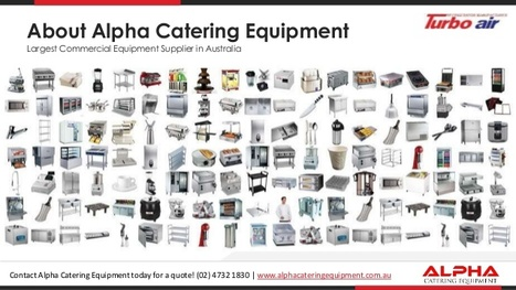 Commercial Kitchen Equipment In Australia | Catering Services | Scoop.it