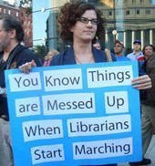 Librarians start marching | The Information Professional | Scoop.it