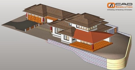 3D Architectural Modeling – Helping You Turn Your Dream Home into Reality | CAD Resolution | Scoop.it