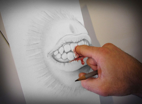 Drawings That Leap Off the Page | Mighty Optical Illusions | The brain and illusions | Scoop.it