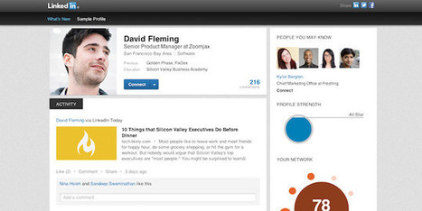 LinkedIn Profile gets a facelift as it looks for more interaction between members - Pocket-lint | Djalem Social Media | Scoop.it