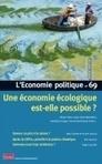 Une économie écologique est-elle possible ? Alternatives économiques n°069 Janvier 2016 | Prospective pour une ville en transition | Scoop.it