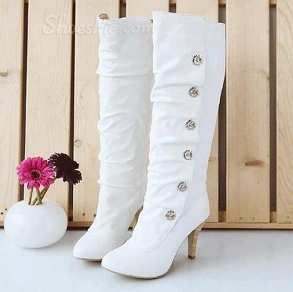 Sweet Girl Stiletto Heel Platform Knee High Boots | shoespie | Scoop.it