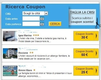 La Coupon Mania impazza e contagia anche la riviera romagnola | Rassegna Stampa Info Alberghi | Scoop.it