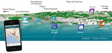 De Rivages en Calanques - Route Numérique | Esterel - Saint-Raphaël - Fréjus | de rivages en calanques | Scoop.it
