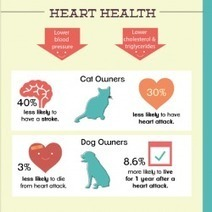 The Positive Payoff of Pets for Your Health | Visual.ly | dogs, cats, pets | Scoop.it