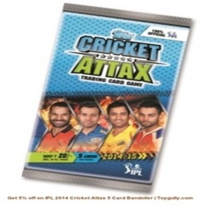 Get 5% off on IPL 2014 Cricket Attax 5 Card Bandolier | Toygully.com | KidsToys | Scoop.it
