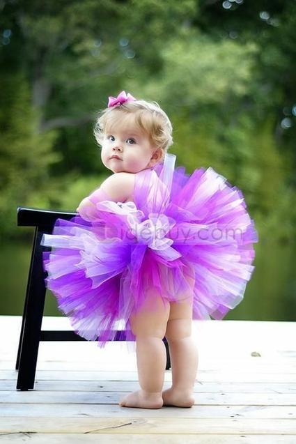 Gorgeous Short/Mini Empire Strapless Color Flower Girl Dresses   beauty-lover   Scoop.it