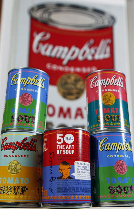 andy warhol limited edition campbell's soup can labels | Digital-News on Scoop.it today | Scoop.it