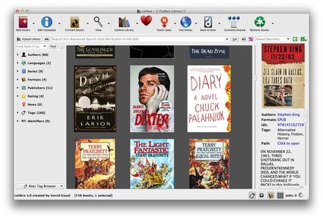Calibre 1.0, el mejor conversor / administrador de eBooks, es lanzado [Descarga del Día] | Tecnología y Software | Scoop.it
