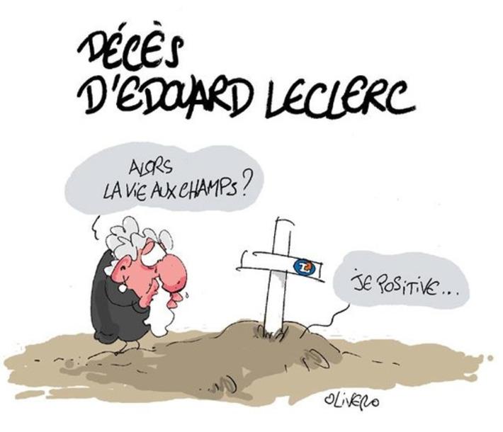 Décès d'Edouard Leclerc   Baie d'humour   Scoop.it