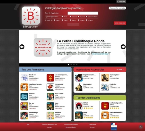 BibApps, annuaire d'applications jeunesse à destination des ... | Tablettes et littérature jeunesse | Scoop.it