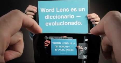 Google compra una aplicación que permite traducir textos impresos con la mirada - 20minutos.es | tquark | Scoop.it