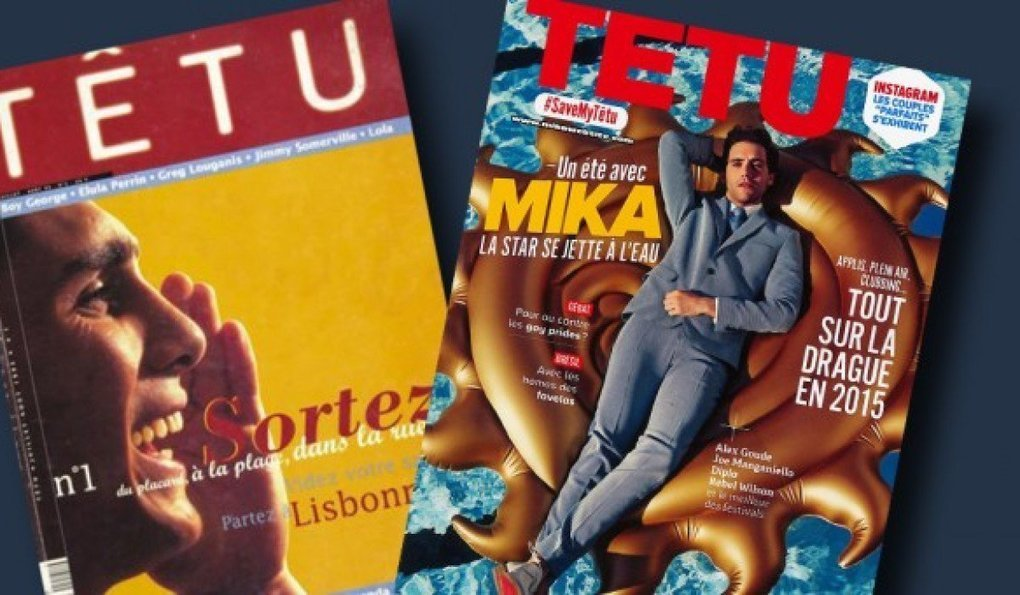 Gay magazine newspaper