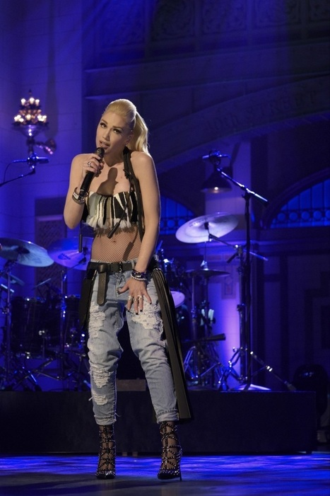 Gwen Stefani wearing Cesare Paciotti | Le Marche & Fashion | Scoop.it