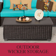 A Wicker Storage Container Can Help You Organize Your Yard - Design Furnishings   Outdoor Furnishings   Scoop.it