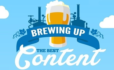 Visualistan: Brewing Up the Best Content #infographic | My Blog 2014 | Scoop.it