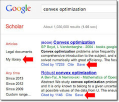 Google Scholar Blog: Google Scholar Library | The Information Professional | Scoop.it