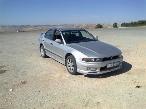 Mitsubishi Galant 2002 - 2000cc Silver - 8.800 JDs | Cars For Sale In Jordan | Scoop.it