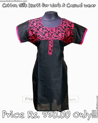 BEst Chikan Work Kurtis Online Lowest Prices!! India | for home | Scoop.it