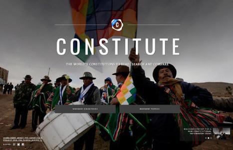 Constitute – Google Ideas | Peer2Politics | Scoop.it