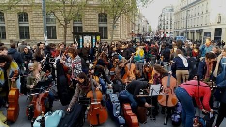 Musique classique à Nuit Debout. A-t-on bien mesuré ce qui se joue ? | Art + Culture + Politiques culturelles | Scoop.it