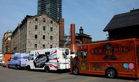 Food Trucks Find a New Home Downtown | cityscape | Torontoist | FunkyBentoToronto | Scoop.it