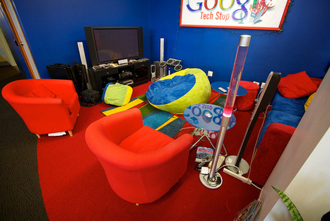 Google is revolutionizing the work place by turning it into a home away from home. | B-Gina™ TechNews Report | Scoop.it