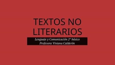 Textos No Literarios | lectura i escriptura | Scoop.it