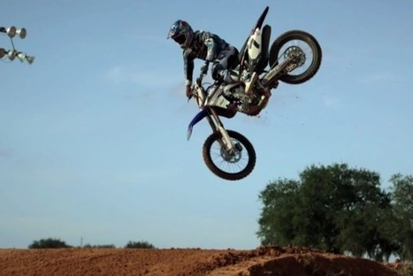 James Stewart and Red Bull hit the Motocross track in slow-mo | James Stewart | Scoop.it