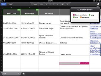 The History 2.0 Classroom: TimelineJS X Google Drive = Collaborative Timelines with iPads | iPad classroom | Scoop.it