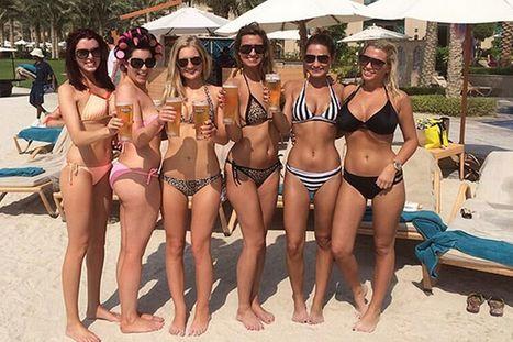 Sam Faiers posts sizzling bikini photo on girls holiday in Dubai - Mirror.co.uk | micro bikini | Scoop.it