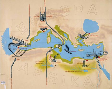 Atlantropa: el colosal proyecto para drenar el Mediterráneo y crear un supercontinente euroafricano - RT | Nuevas Geografías | Scoop.it