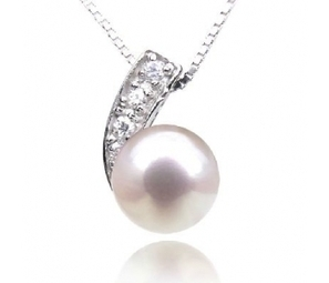 Stunning freshwater 8.5 - 9mm peal pendant | Apple iPhone and iPad news | Scoop.it