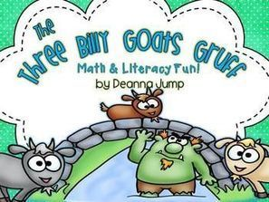 The Three Billy Goats Gruff Math & Literacy Fun! Common Core Aligned | Common Core:  Citing Textual Evidence | Scoop.it