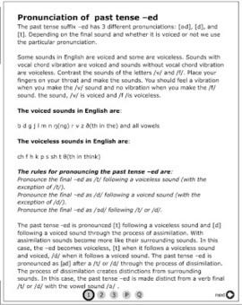 BLOG DE INGLÉS: PRONUNCIATION OF FINAL -ED_ | ENGLISH PHONETICS | Scoop.it