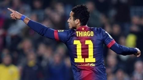 Thiago, el aprendiz sobrio | Elfutbolsegunvin | Scoop.it