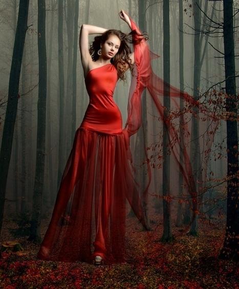 Девушка в красном | FreeSharePhotos | Free Share Photos | Scoop.it