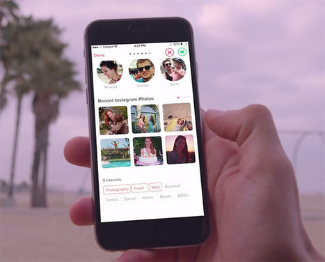 Tinder's Dating App Now Lets You Judge People's Instagram Photos Too | xposing world of Photography & Design | Scoop.it