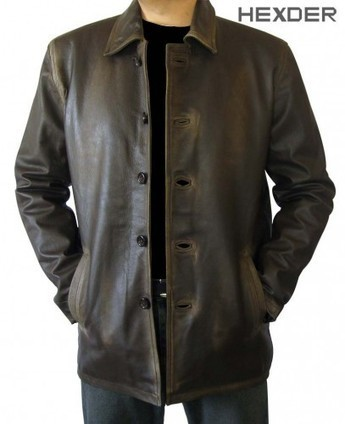 Supernatural Jacket In Distressed Leather | Brown Dean Winchester Coat | Hexder | Scoop.it